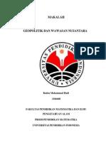 MAKALAH - Geopolitik Dan Wawasan Nusantara-libre
