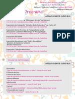 Programa Manchaarte 2015