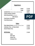full menu pdf