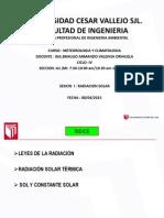 Radiacion Solar ppt