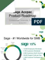 Accpac Roadmap - PUBLIC Jan 2010