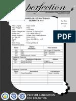 Formulir Pendaftaran LKMM TD 2015