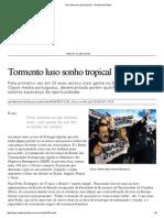 Tormento Luso Sonho Tropical — Rede Brasil Atual