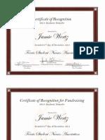 fsna certificates