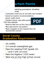Guidance Scheduling Presentation 14-15 All Grade Levels