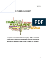 Change Management - How to Build Long-term Sucess