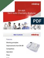 Brochure de Analizador de quimica BA 88A