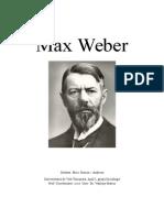Max Weber Etica protestanta si spiritul capitalismului