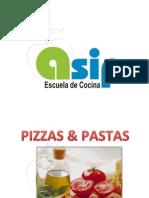 Pizzas & Pastas Curso Aficionados