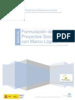 Formulacion de Proyectos Sociales Con Marco Logico
