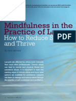 Mindfulness in the Practice of Law