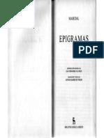Marcial Epigramas I Gredos
