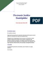 42.- Diccionario Enciclopedico Juridico - Diccionario
