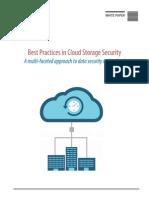 WP Cloud Storage Security