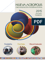 Νέα Ακρόπολη Δράσεις στον κόσμο 2015 - Yearbook New Acropolis 2015