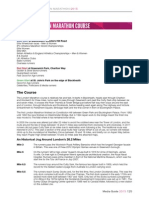 2015 VMLM Media Guide the London Marathon Course