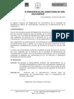Reglamento de Cementerios - SBPH