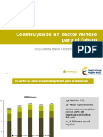 Sector Minero para el futuro