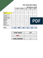 Composing Rate List.........Rfsdfs