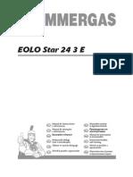 EOLO Star 24 3 E - Instructiuni Instalare Si Utilizare
