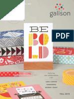 Galison F15 Catalog