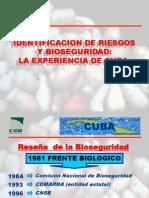 Identificacion de Riesgos (Experiencia Cubana)