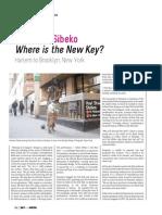Vumelani Sibeko Where is the New Key?