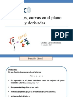 Guía 1 Funciones Reales, Curvas en El Plano y Derivadas