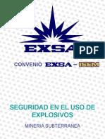 Seguridad en Explosivos