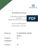 Rapport de Stage Mohammed Yassine ONCF