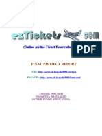 (Online Airline Ticket Reservation System)