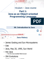 CDIT Java01 00_Introduction to Java