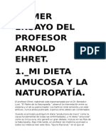 Siete Ensayos Del Profesor - Arnold Ehret