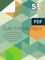 Guía Metodológica para la implementación de Administraciones Tributarias de los Gobiernos Autónomos y del Impuesto Departamental a la Transmisión Gratuita de Bienes