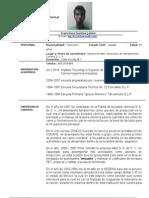 Curriculum Vitae_ Lic. Jaime Francisco Santos