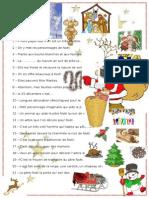 Noël Vocabulaire