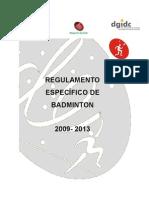 Regulamento Badminton