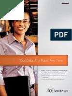 SQL Server 2008 Brochure
