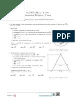 Teorema Pitagoras -Ficha