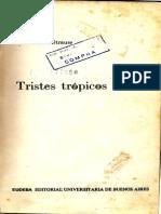 Tristes Tropicos Claude Levi-strauss