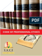 SACE COde of Ethics