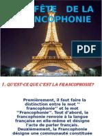 La Fete de La Francophonie