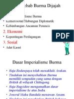 Sebab Burma Dijajah