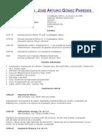 Curriculum Arturo Gomez