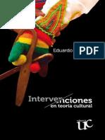 Eduardo Restrepo - Intervenciones