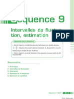 Intervalle de Fluctuaion,Estimation(9)