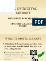Use of Digital Library
