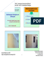 PCC 2436 - 2003 - Aula 30 Patologia Manifestacoes
