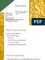 ITP Presentation - Foreign Exchange Rates