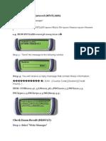My SMS Manual